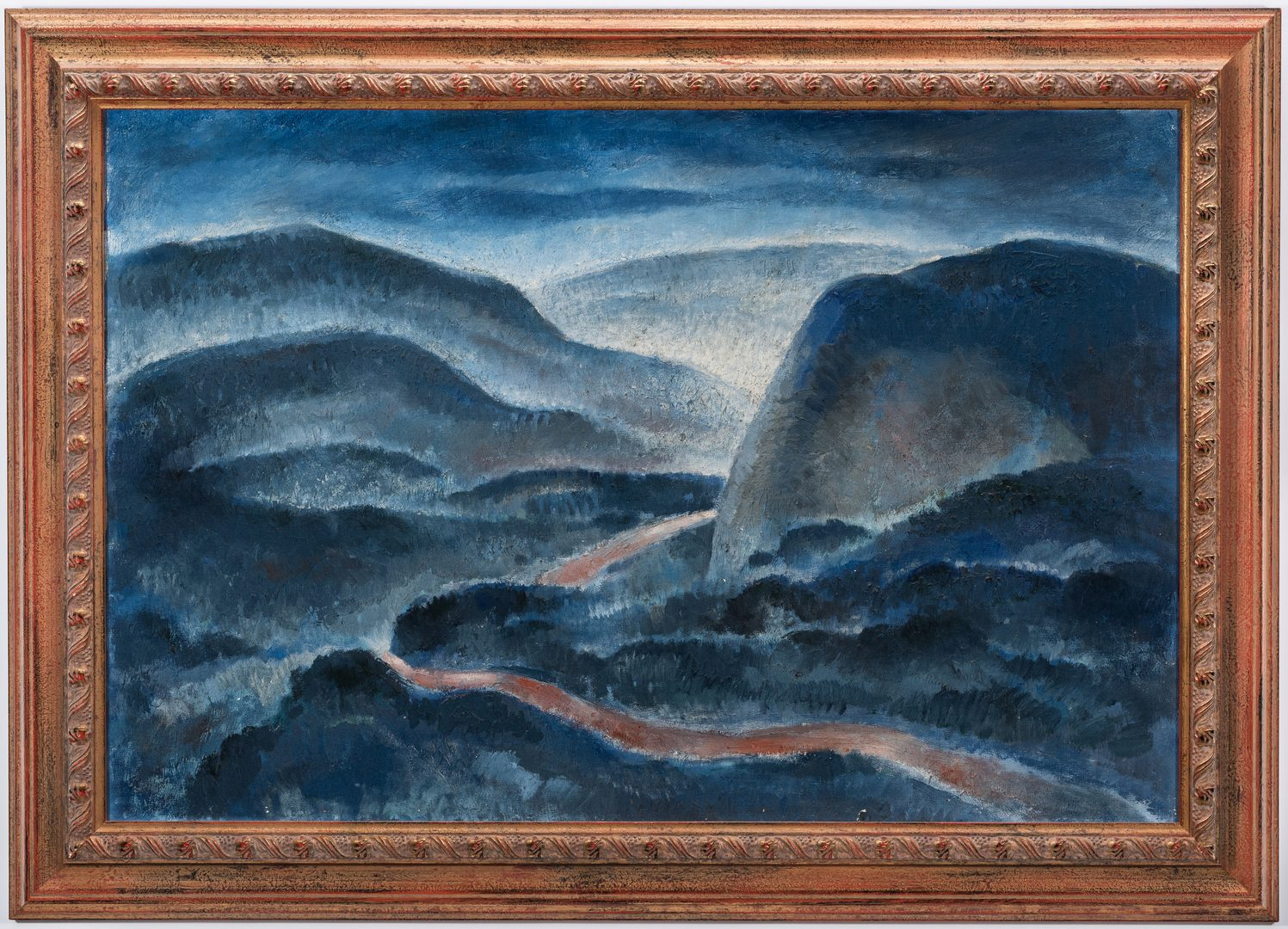 "Lot 93: Frank W. Long, O/C, ""Road to Cumberland"""