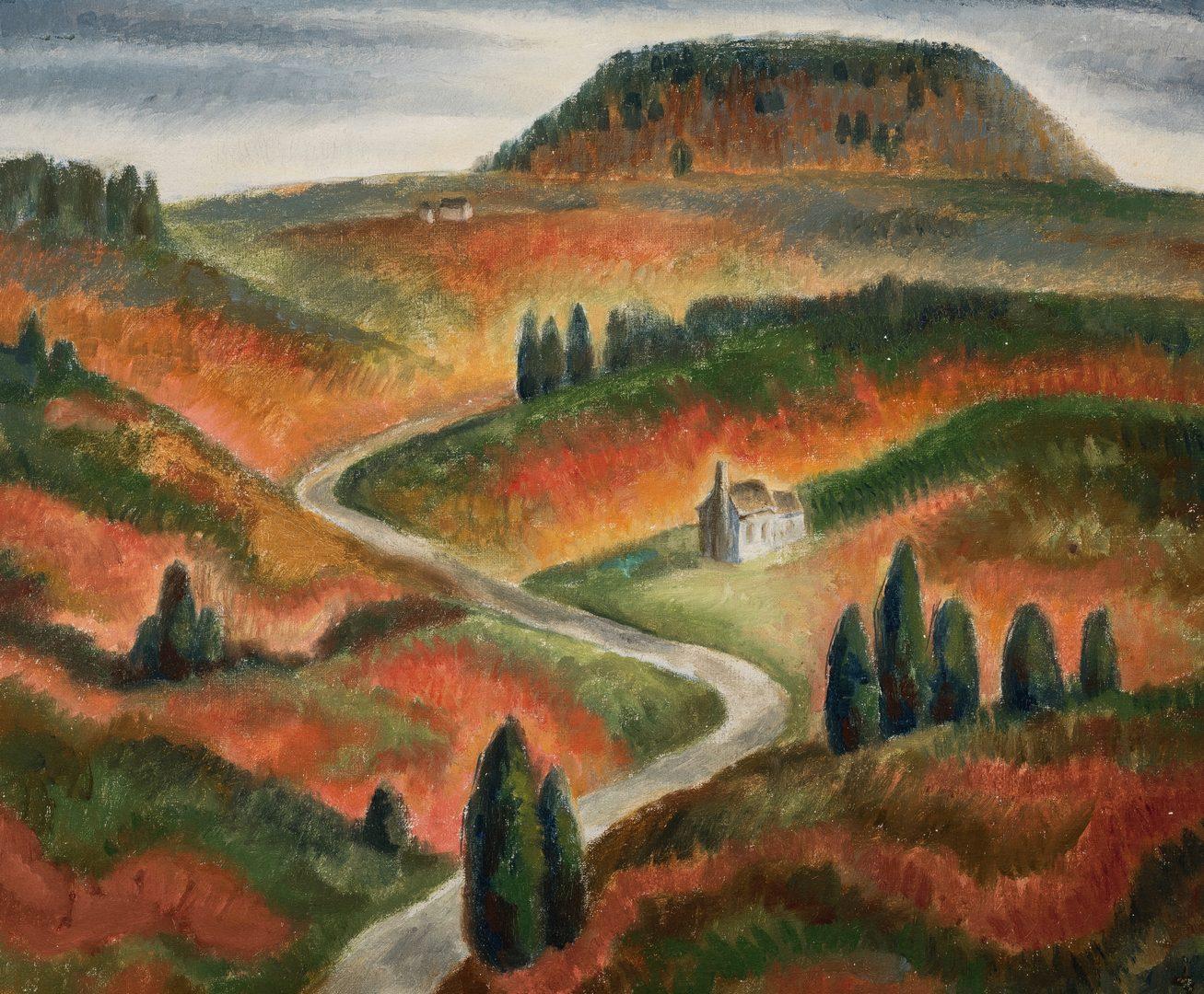 Lot 94: Frank W. Long, O/C, Berea, KY Landscape