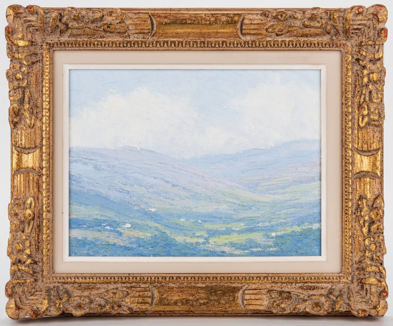 Lot 95: J. Vance Miller, O/B, Mountain Landscape