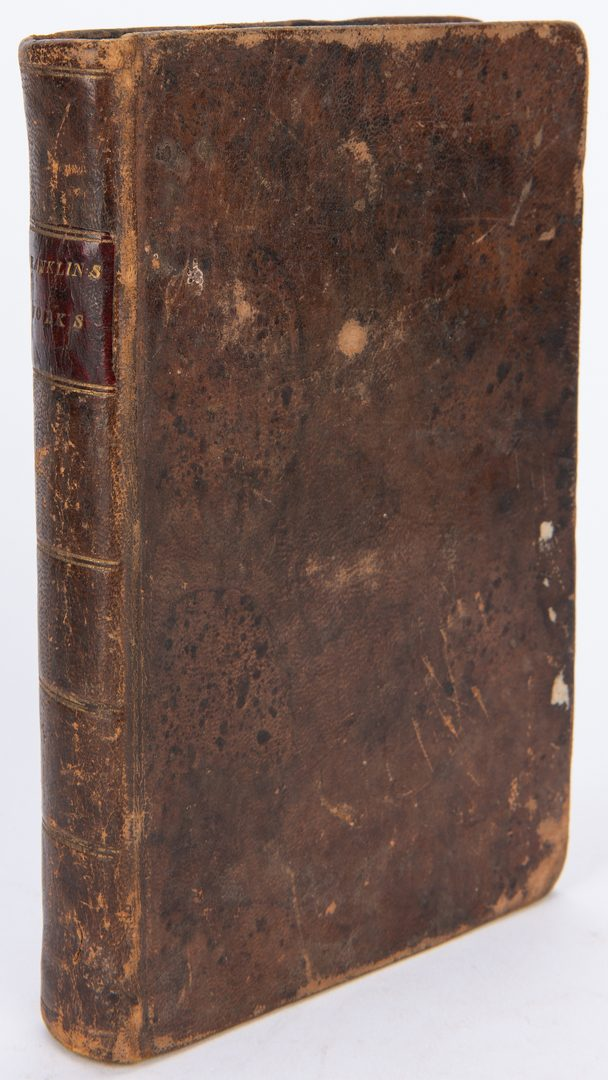 Lot 103: 9 Early American Books