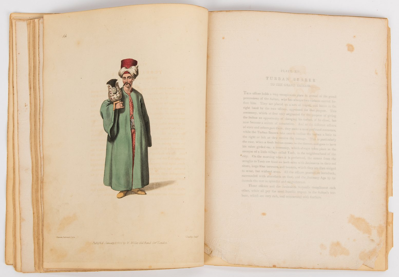 Lot 105: Dalvimart, The Costume of Turkey, 1802