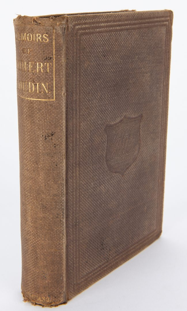 Lot 106: R. Houdin, Memoirs of Robert-Houdin, 1859