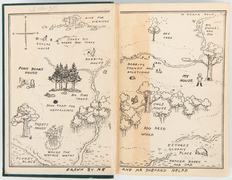 Lot 109: A. A. Milne, Winnie the Pooh, 1st Ed., 1926