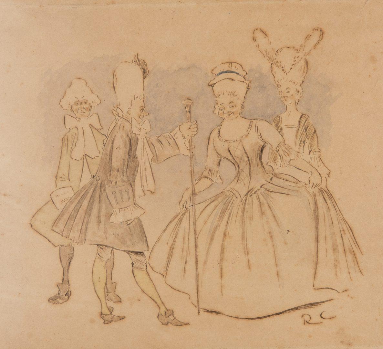Lot 112: 2 Randolph Caldecott Illustrations & Child's Picture Book, 3 items