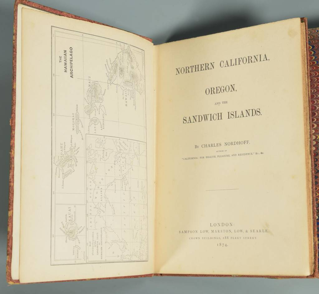 Lot 115: 3 Books on Islands, Westward Expansion