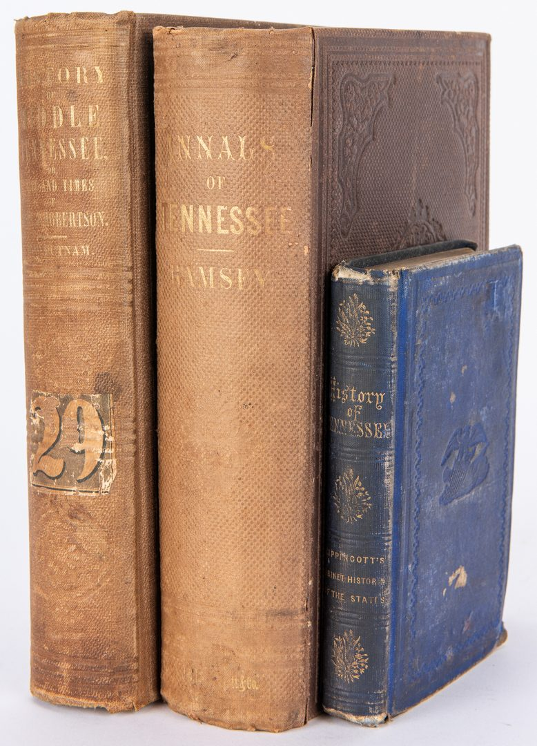Lot 118: 3 TN History Books, inc. Ramsey's Annuals