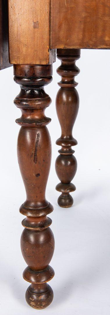 Lot 121: TN/KY Three Drawer Sheraton Table