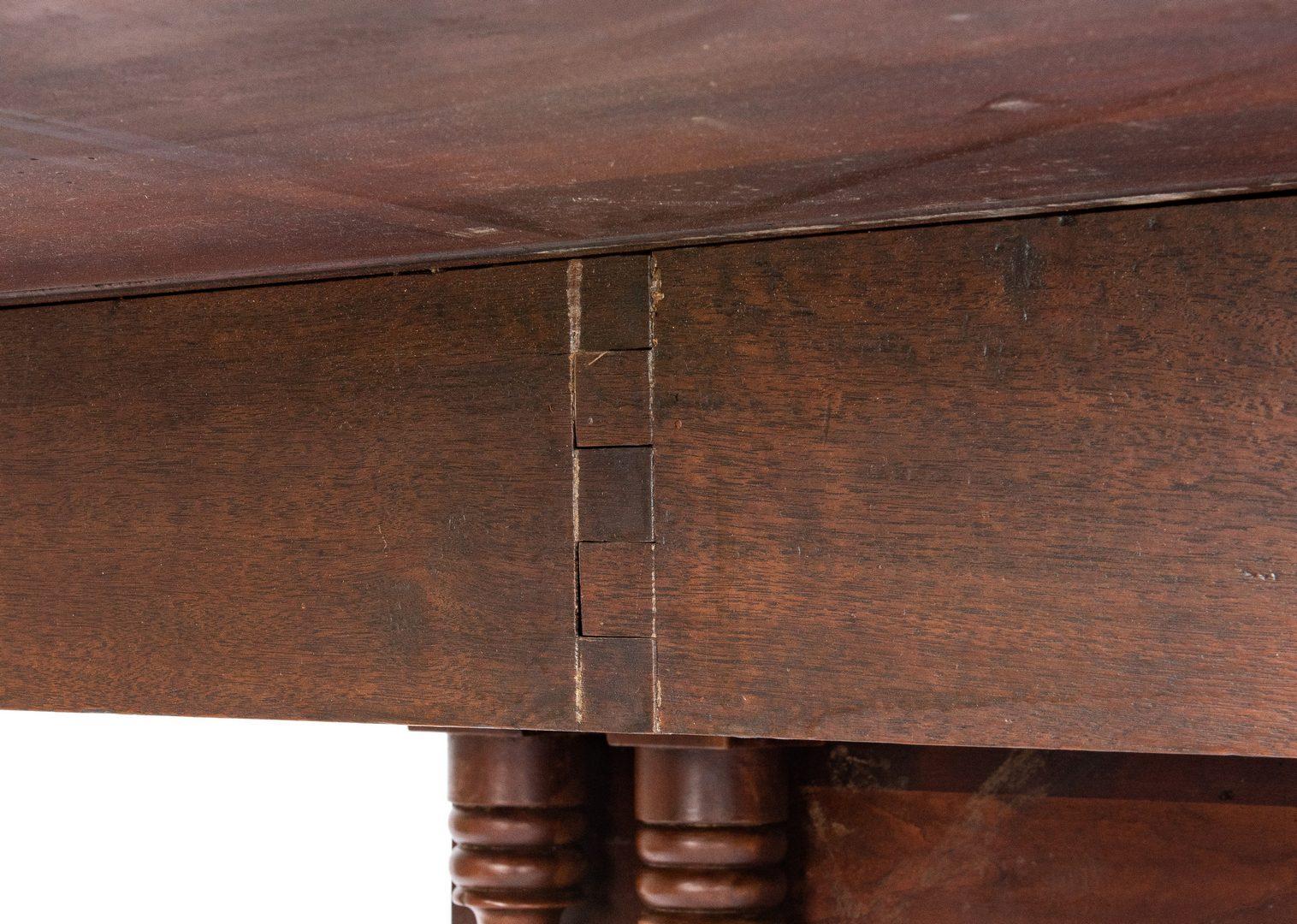 Lot 123: West TN Cherry Drop Leaf Table