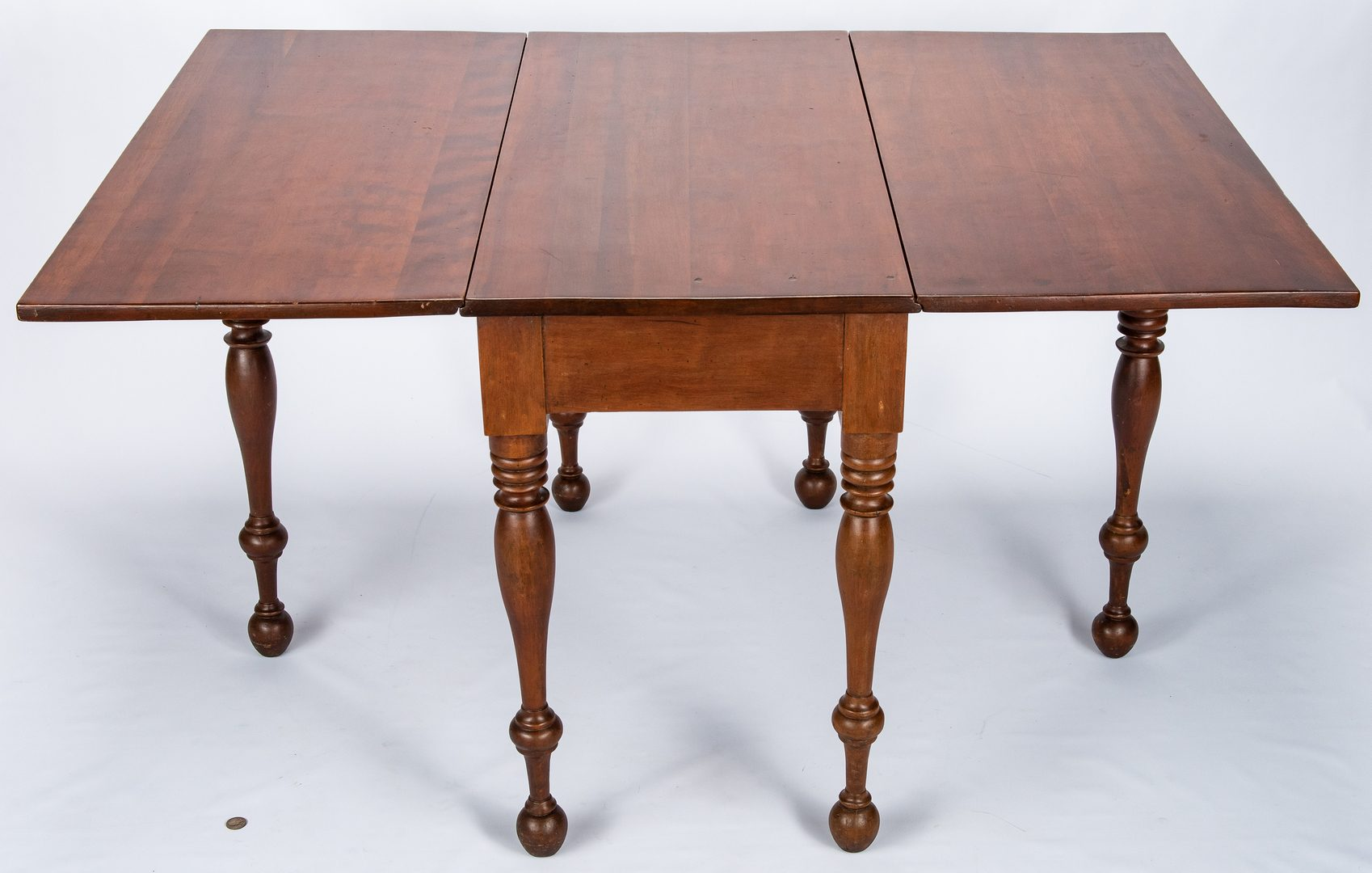 Lot 123: West TN Cherry Drop Leaf Table