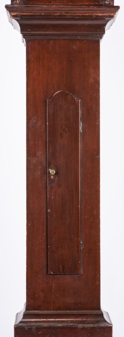 Lot 124: American Federal Tall Case Clock, possibly Southern