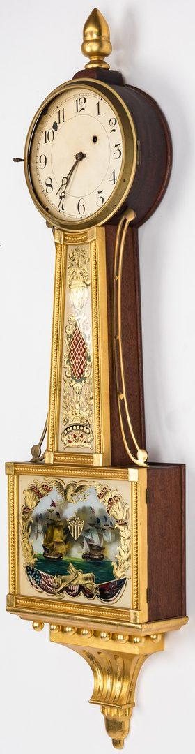 Lot 125: Federal style Banjo Clock