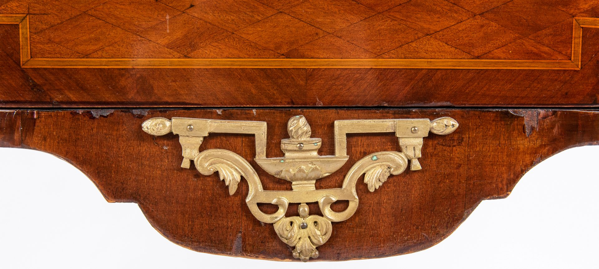 Lot 133: Louis XV Style Parquetry Commode