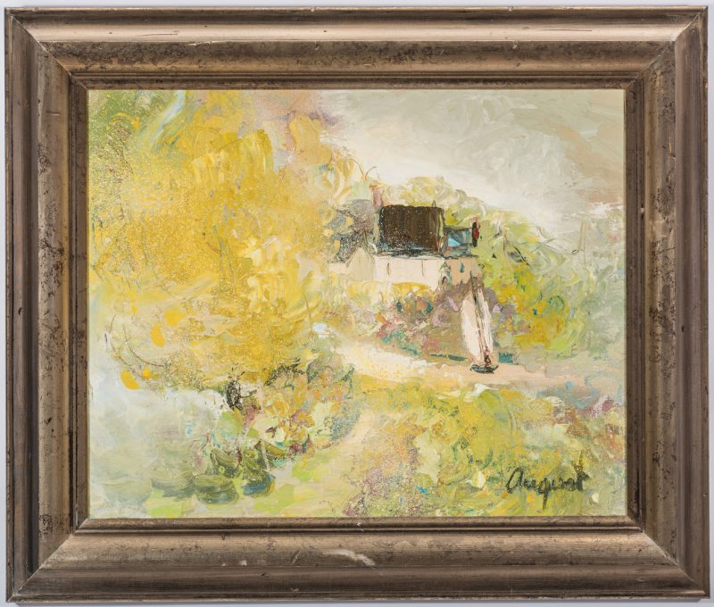 Lot 140: Lillian DeClarence August Oil Landscape