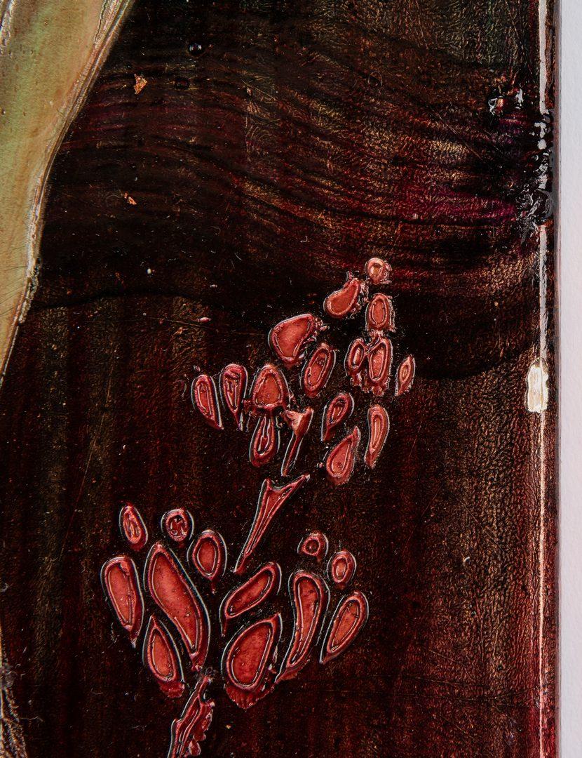 Lot 141: 3 Stephen White Oil on Wood Paintings