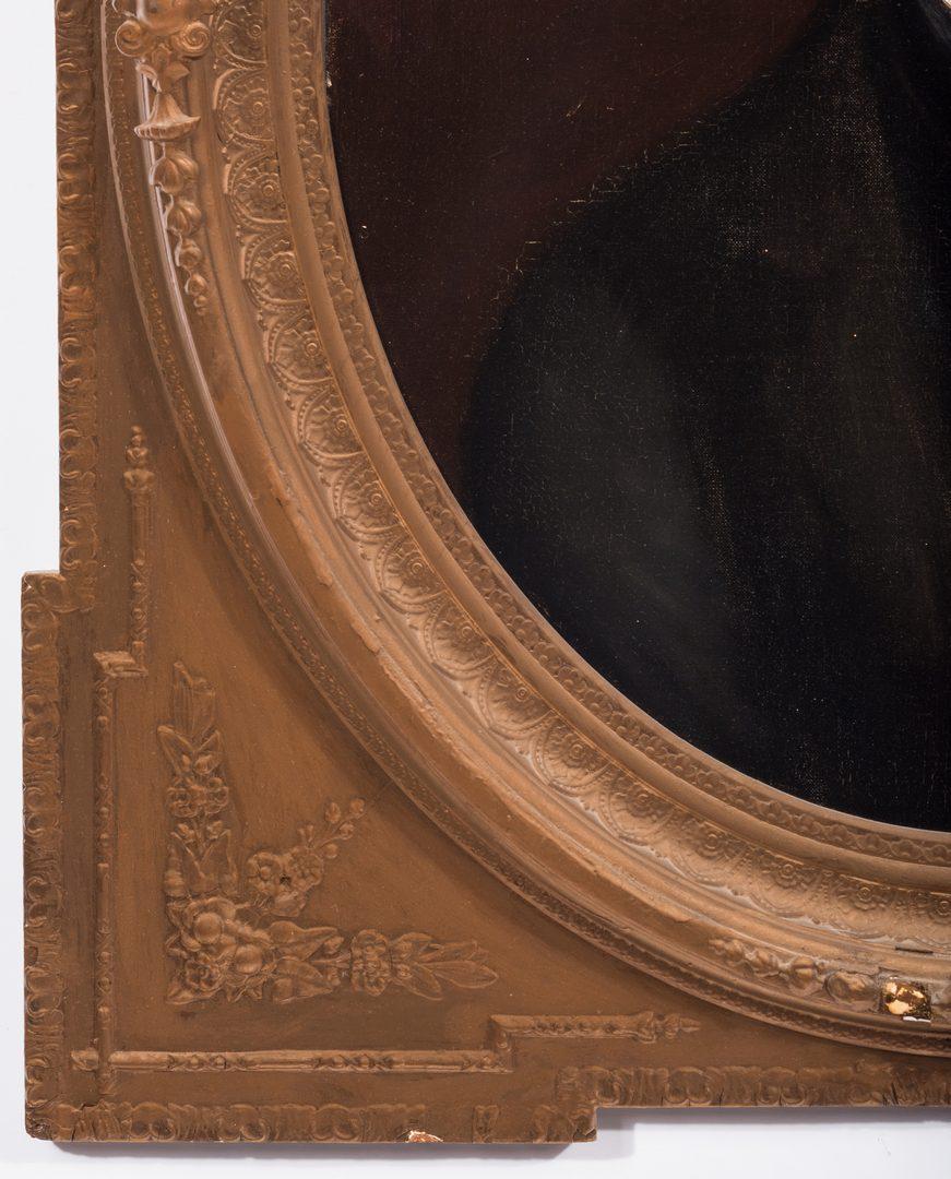 Lot 146: Oil on Canvas Portrait of a TN Gentleman