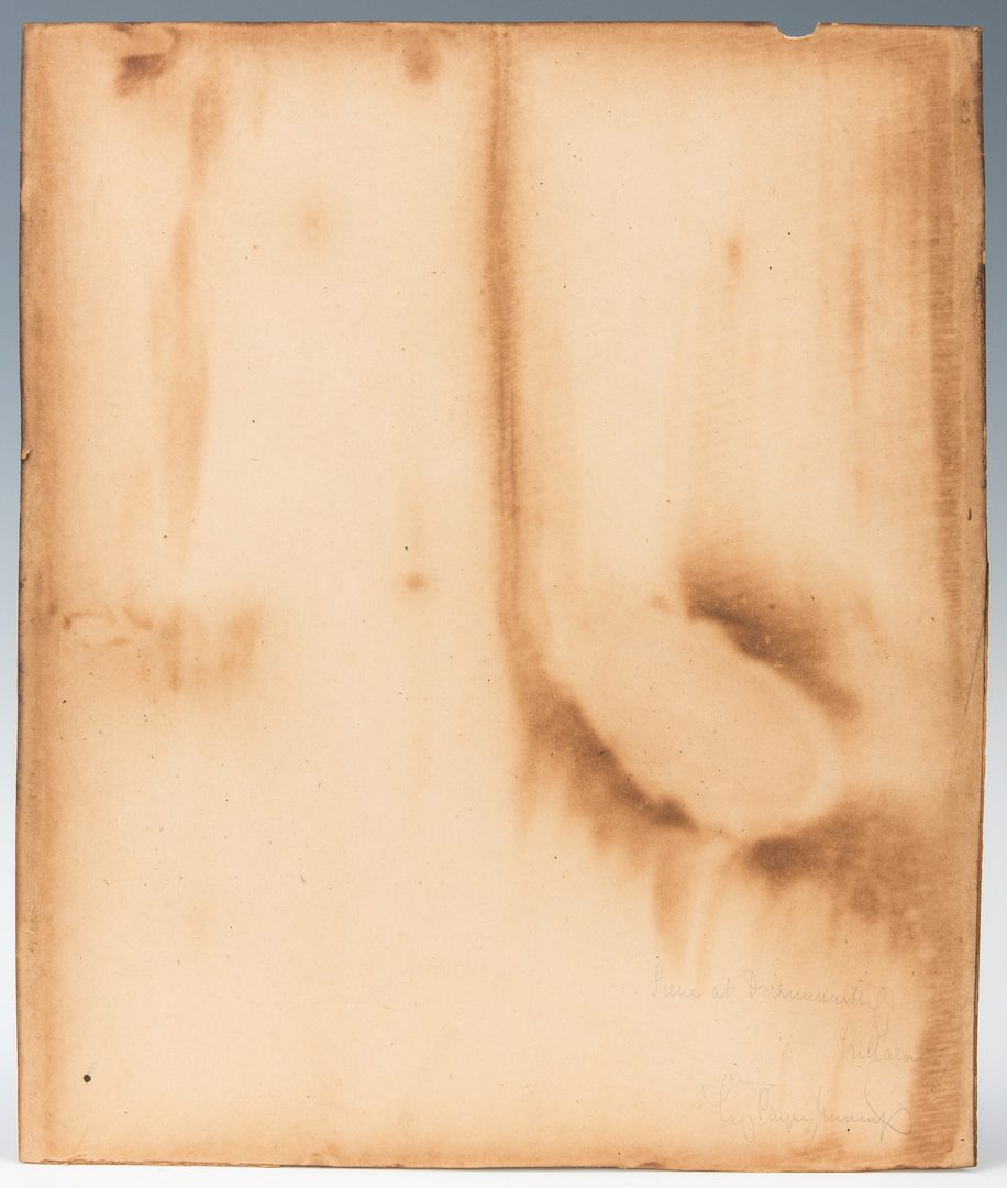 Lot 148: British Photographic Print in Period Gilt Frame