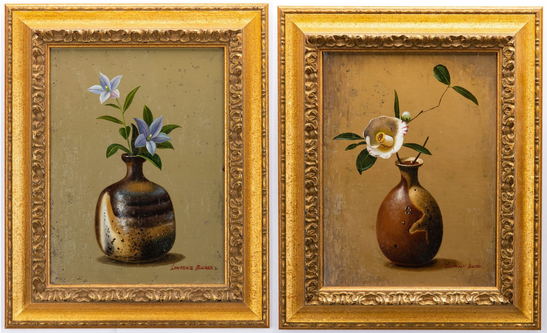 Lot 149: 2 Lawrence Backer O/C Still Life Paintings