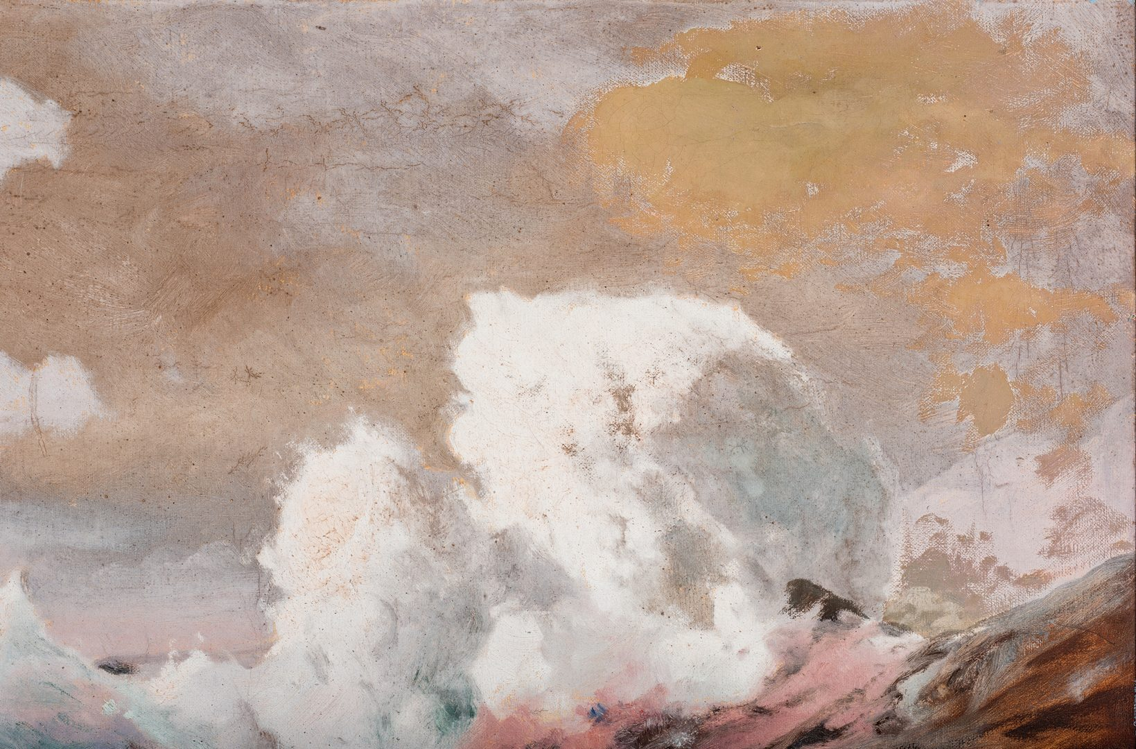 Lot 151: Angel Espoy Oil on Canvas Seascape