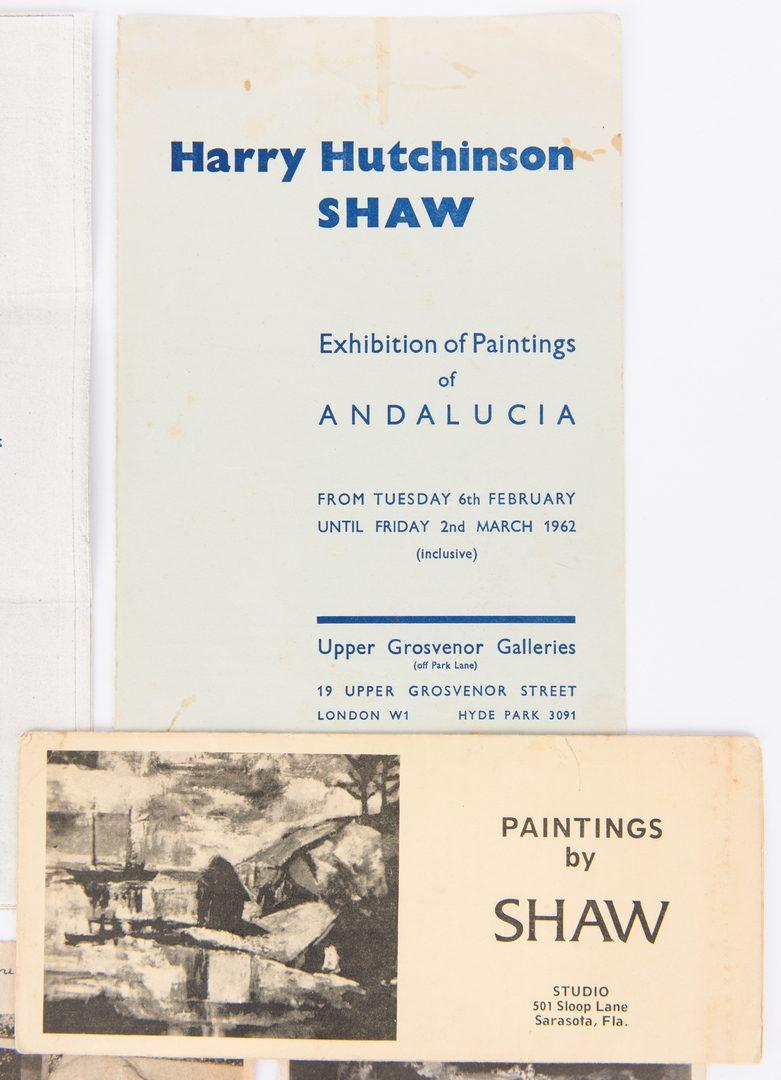 Lot 154: H.H. Shaw W/C, Quest Book, & Ephemera, 13 items
