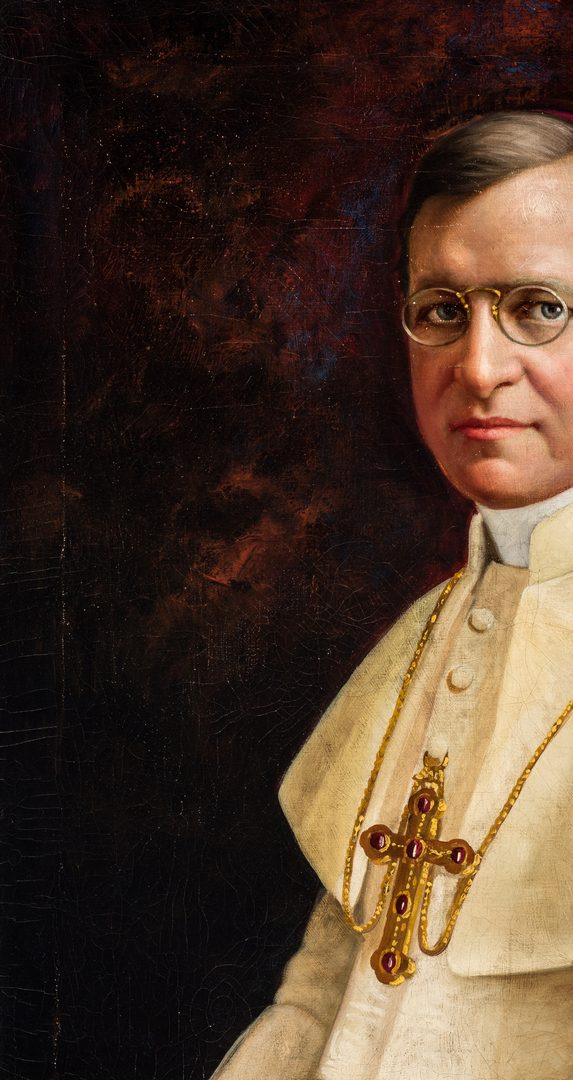 Lot 155: Joseph Kavanagh, Portrait of a Catholic Bishop