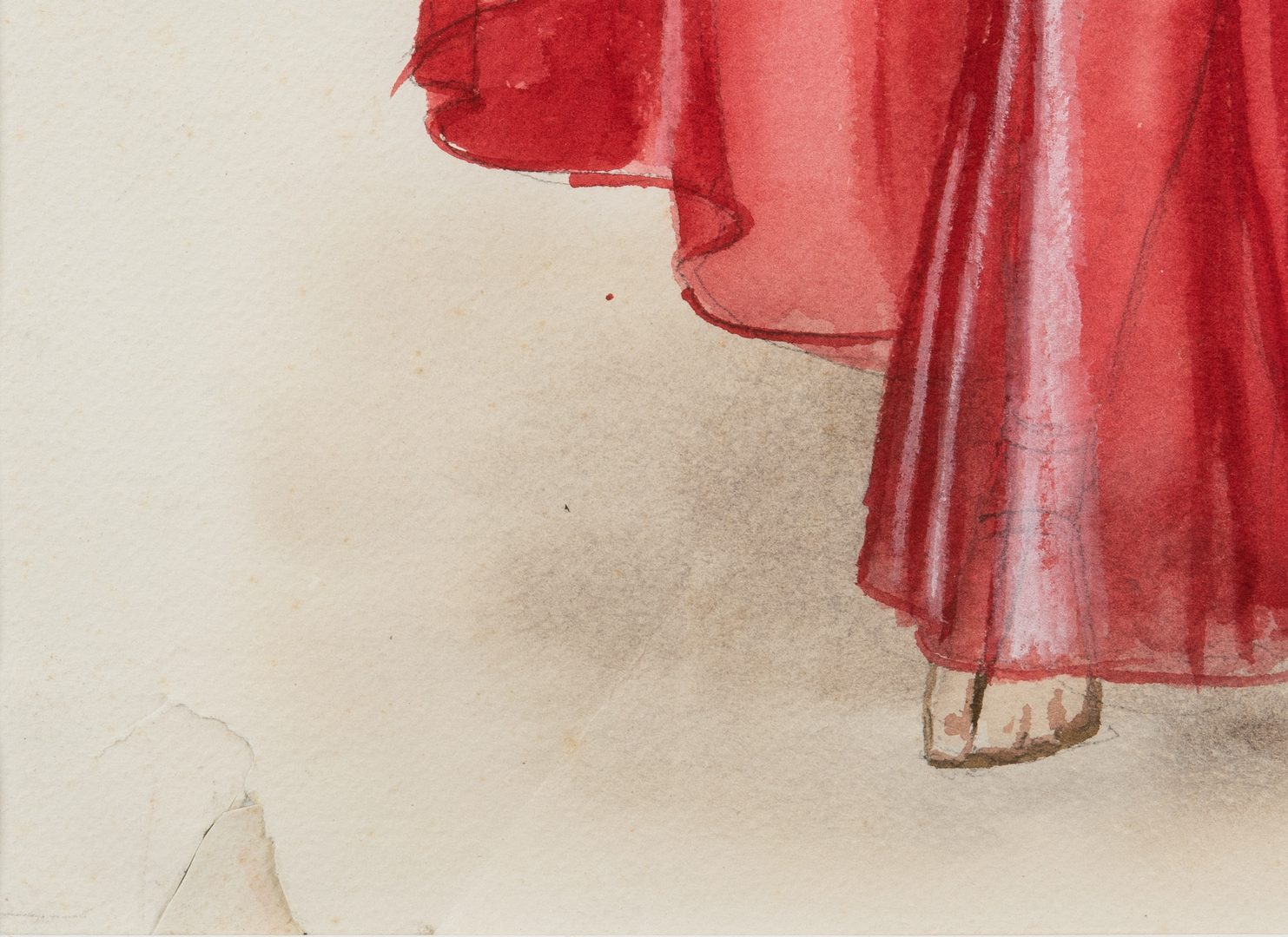 Lot 158: 8 Theater Costume Studies