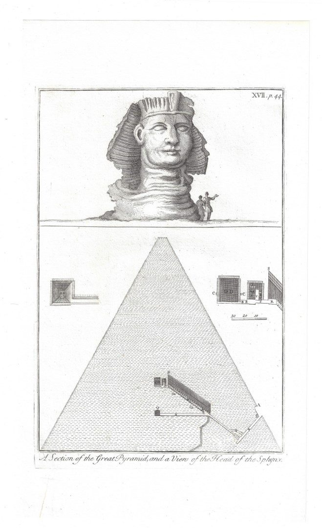 Lot 161: 38 Richard Pococke Egyptian/Classical Engravings