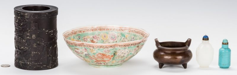Lot 189: 5 Chinese Decorative Items