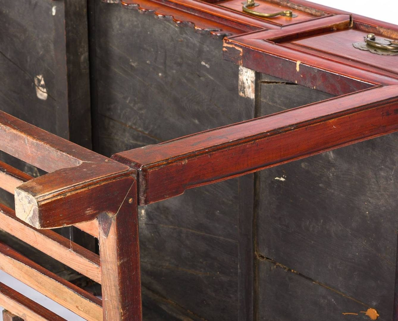 Lot 192: Chinese Hardwood Desk