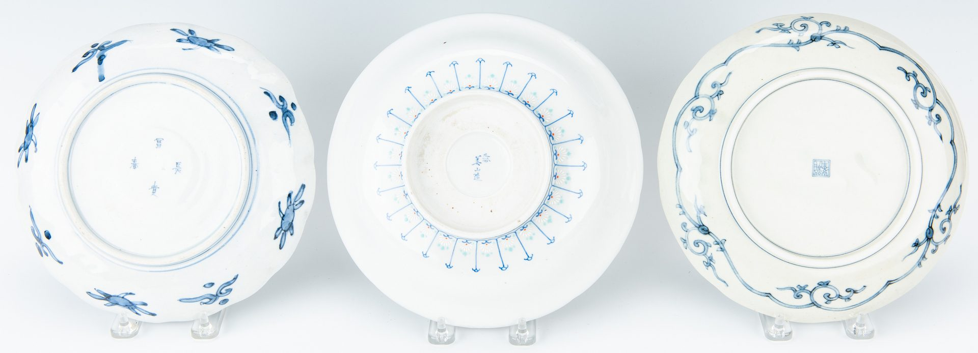 Lot 195: 13 pcs Japanese Porcelain, inc. Satsuma