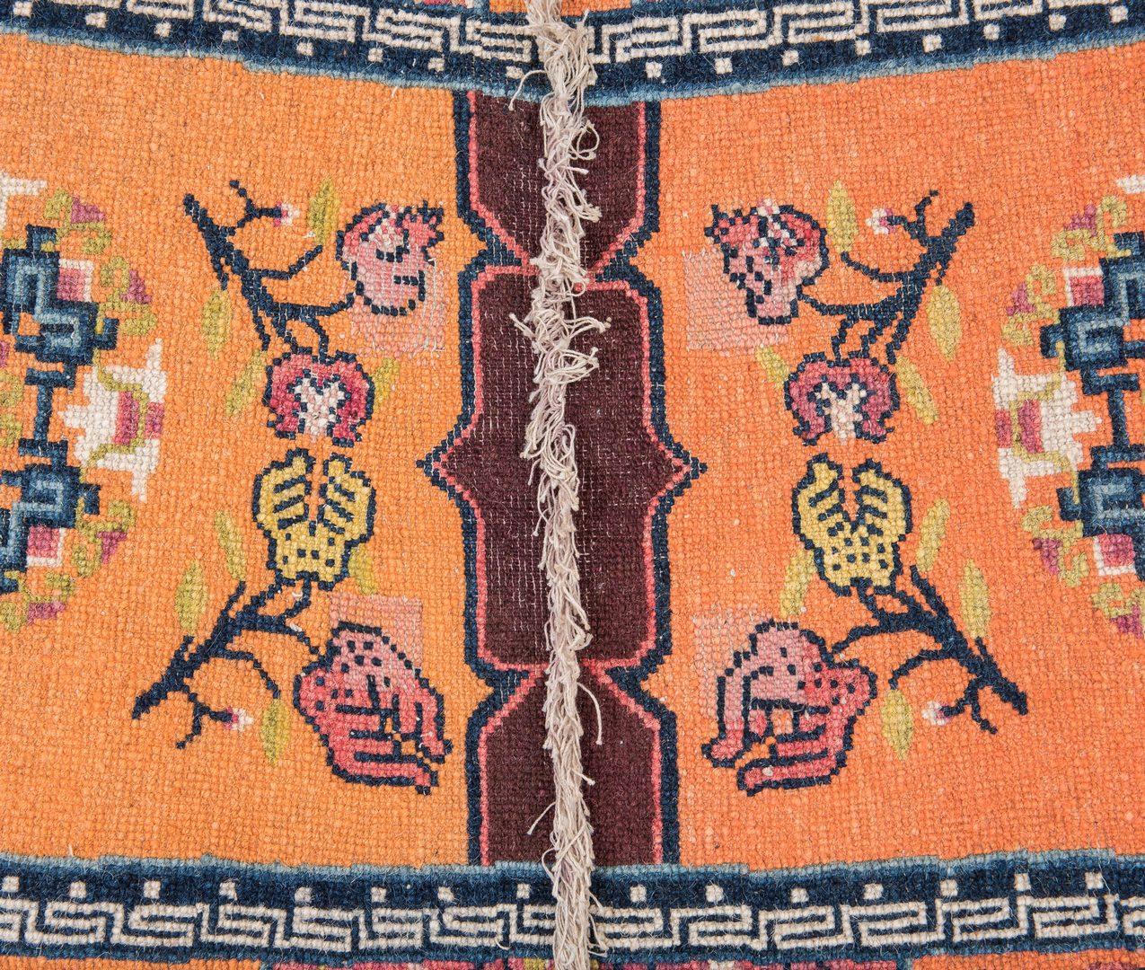 Lot 204: Mongolian Saddle Rug, 1st quarter 20th c.
