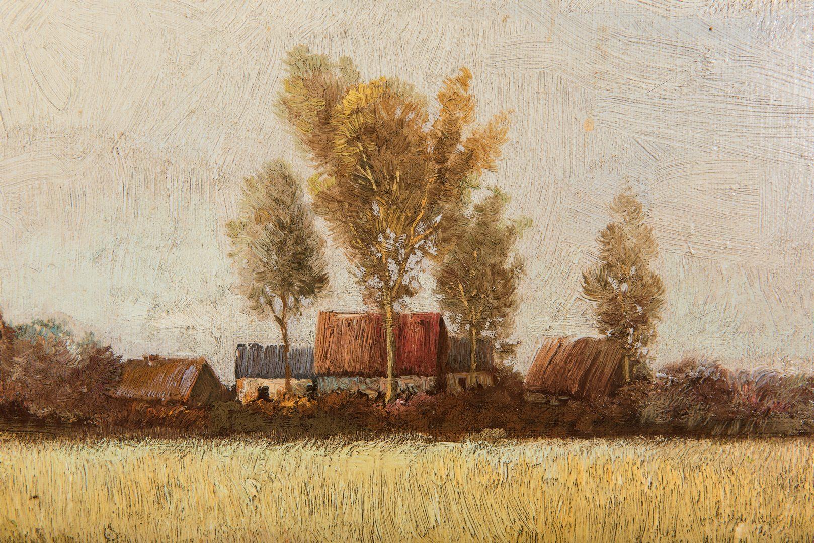 Lot 222: Claude Kliman O/C Rural Landscape
