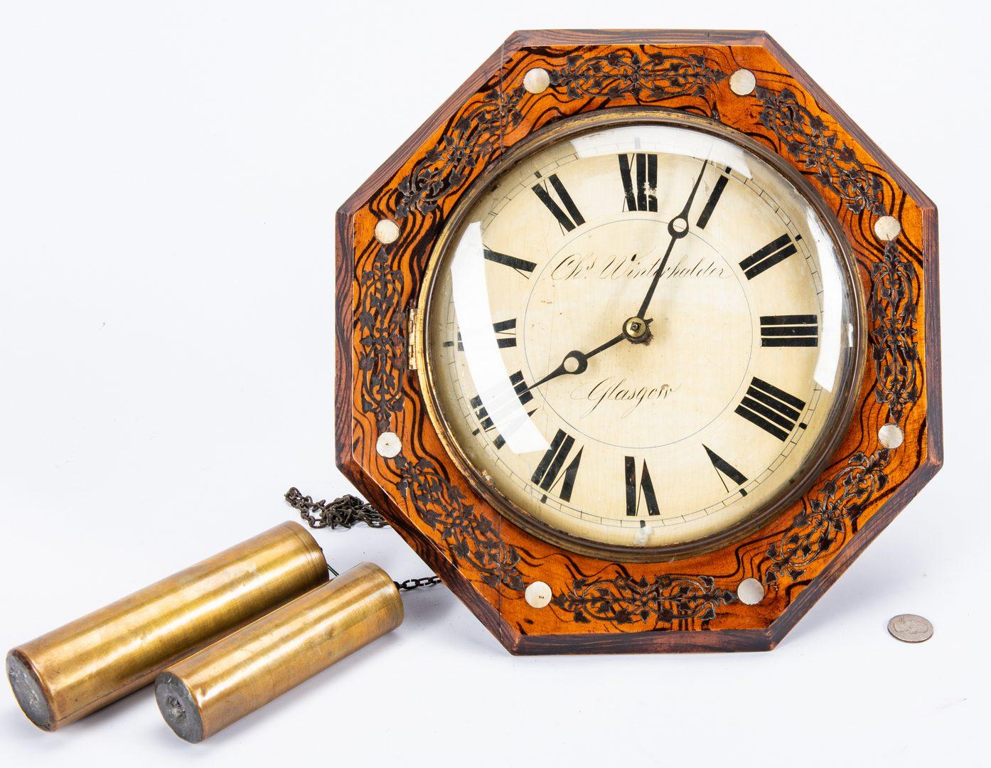 Lot 225: Winterhalder Glasgow Wag on Wall Clock