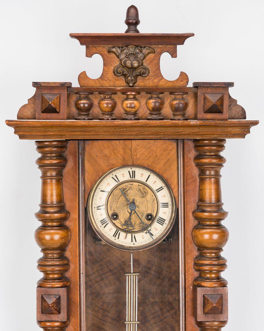 Lot 226: 3 American & European Clocks