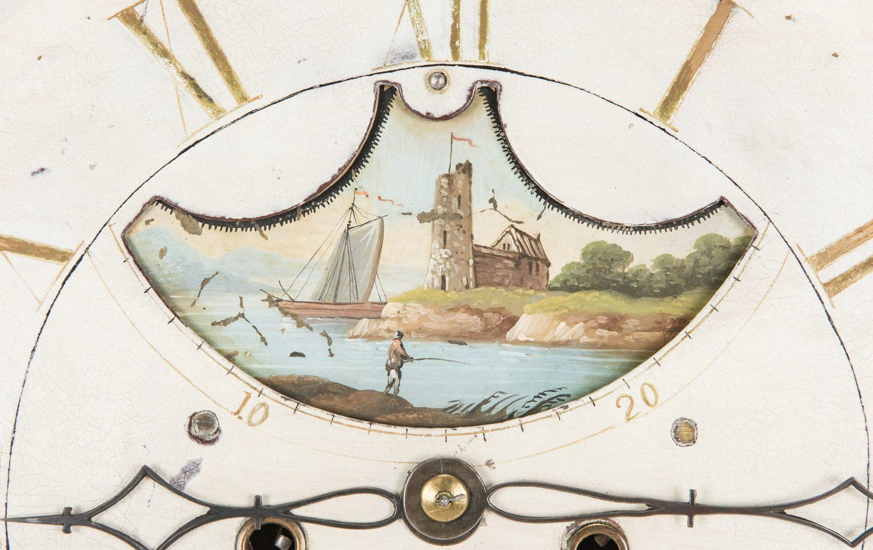Lot 234: Signed 1801 English Tallcase Clock