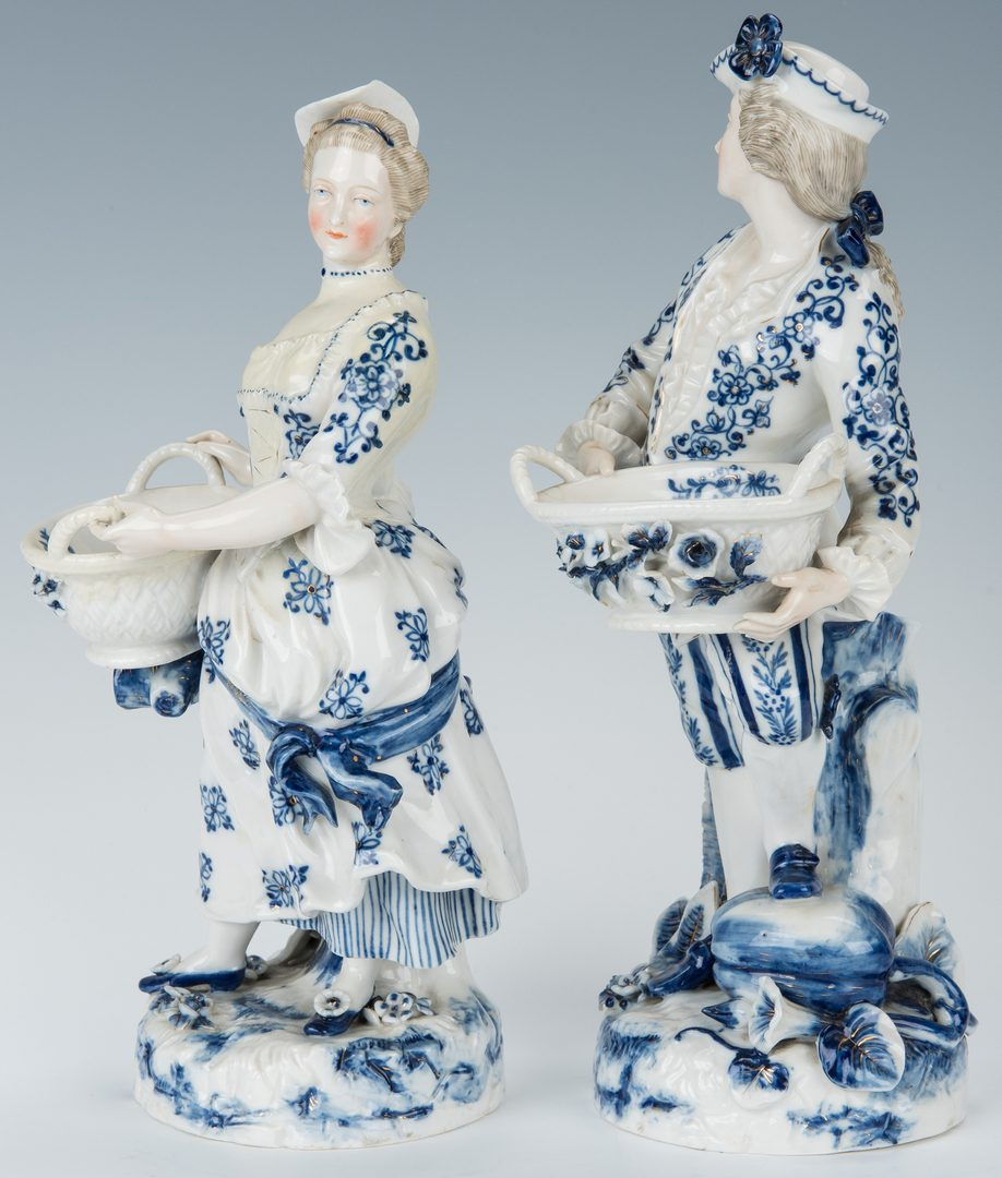 Lot 253: 6 pcs European Porcelain, inc. Meissen