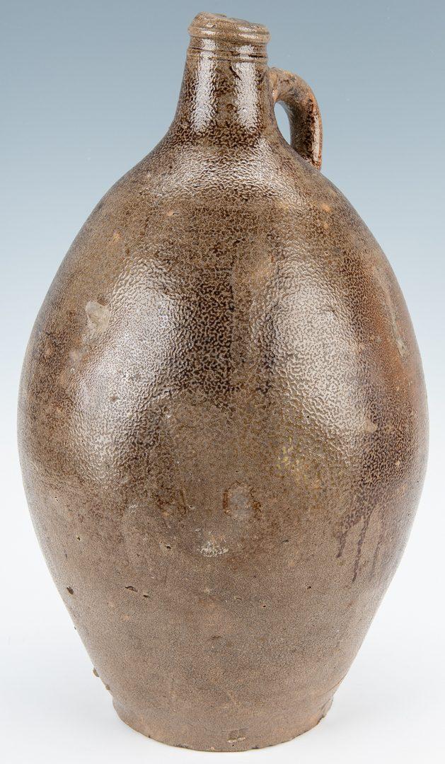 Lot 257: German Bellarmine Stoneware jug, 18th century