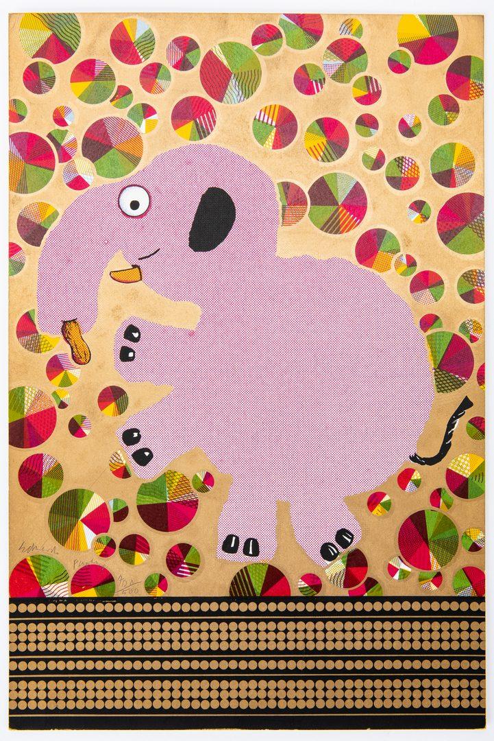 "Lot 277: Edouardo Paolozzi ""Moonstrips Empire News Vol. I"" Portfolio, 1967"