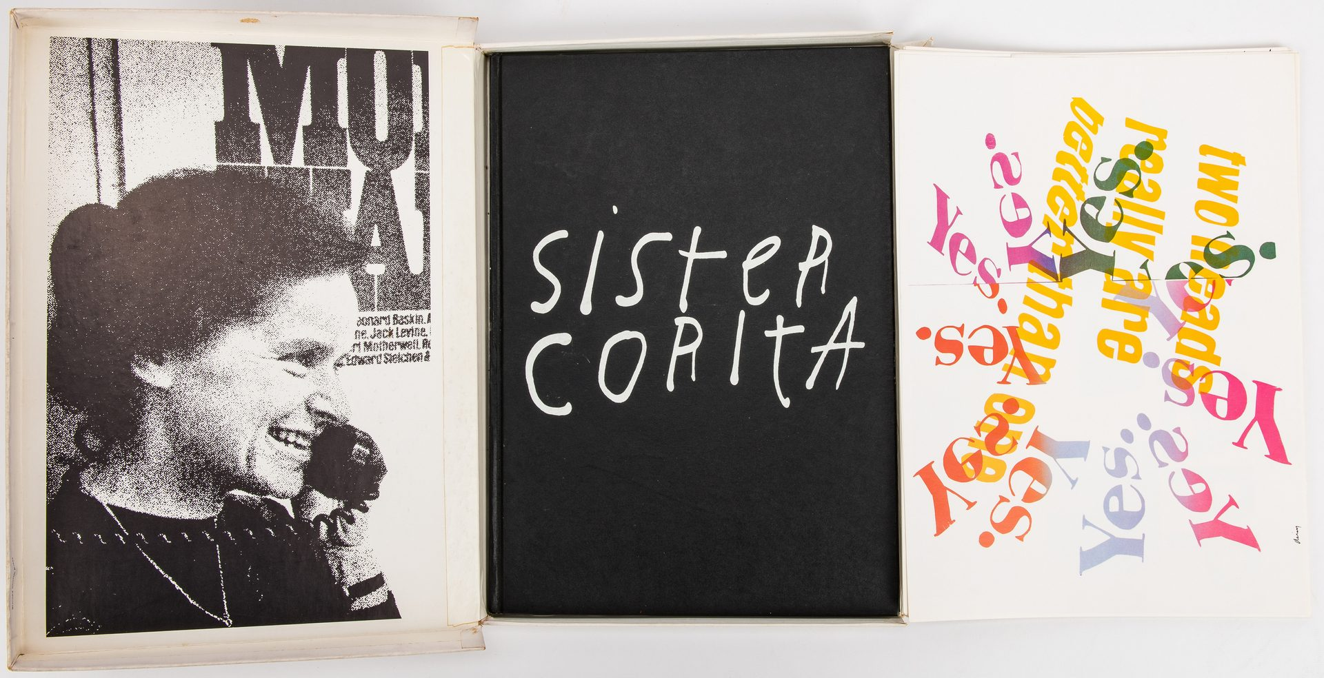 Lot 280: Sister Mary Corita Kent Boxed Set, Book & Prints