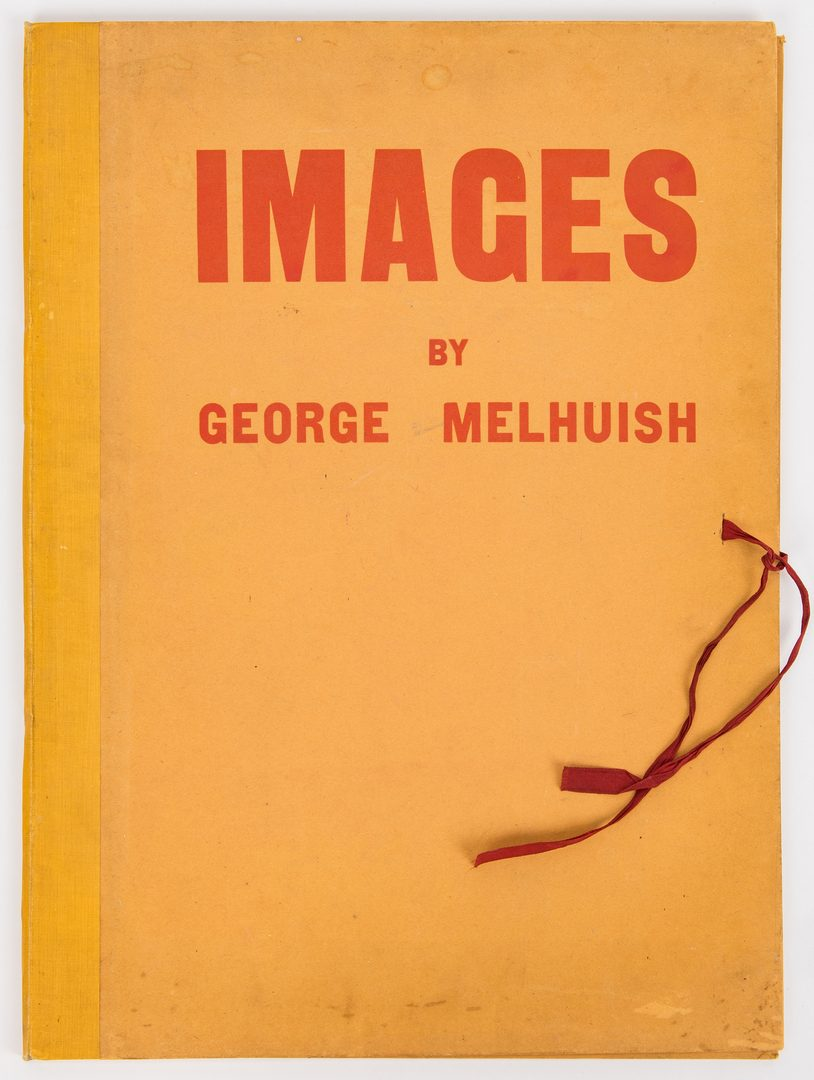 Lot 282: George Melhuish Folio & 2 Oil on Paper Works