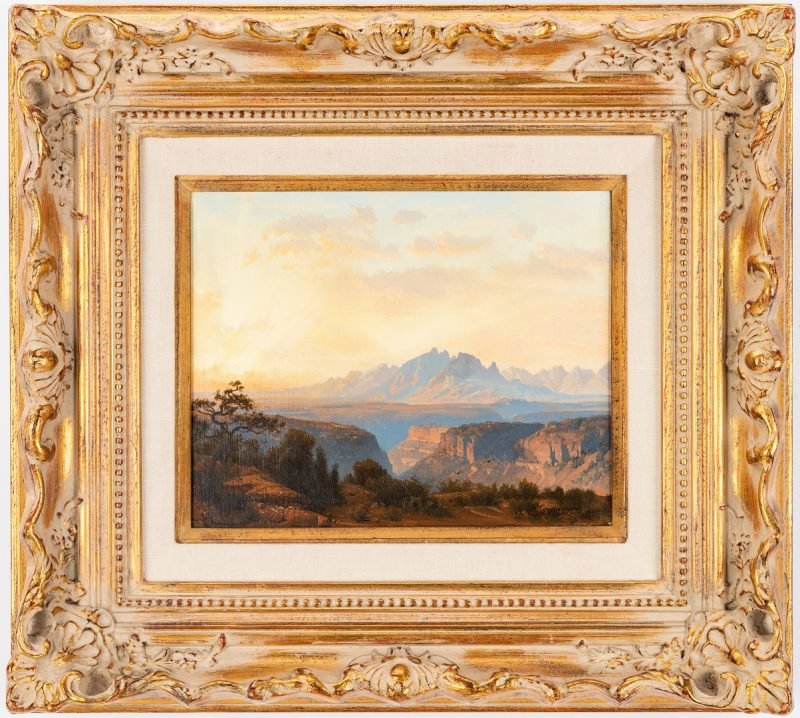 Lot 288: Michael McCarthy oil, Grand Canyon