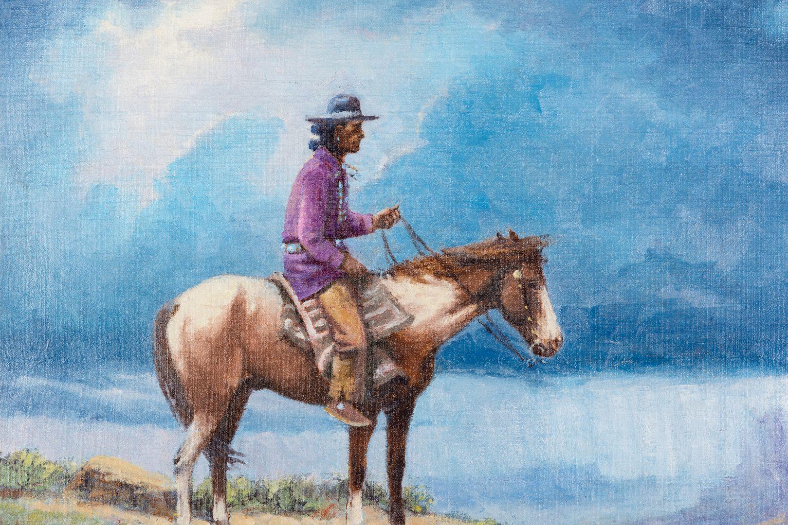 Lot 289: Olaf Weighorst O/C Navajo Rider