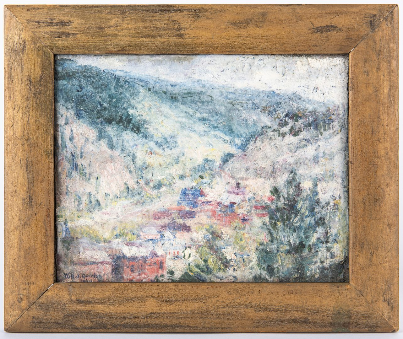 Lot 291: 2 Will Quinlan Oil on Board Landscapes