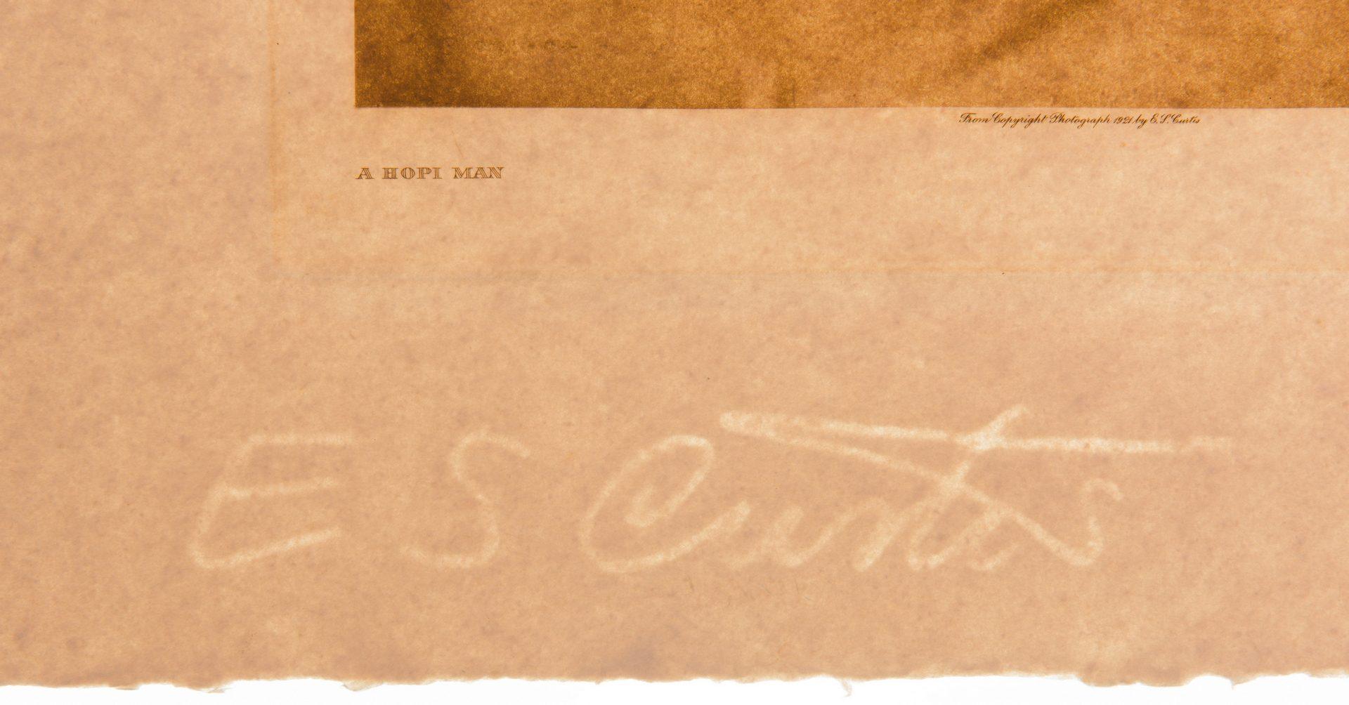 Lot 295: 6 E.S. Curtis Posthumous Photogravures