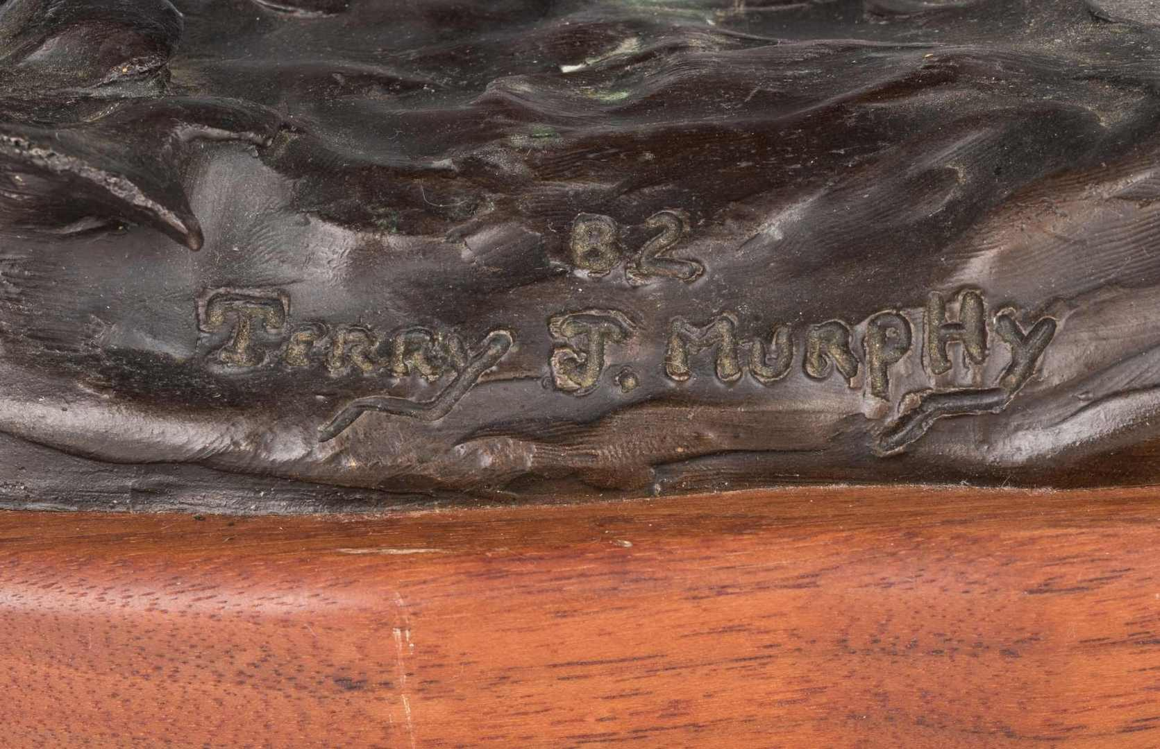 Lot 297: Terry J. Murphy Western Bronze