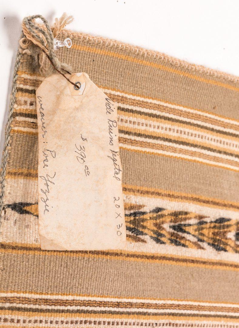 Lot 300: 3 Native American Navajo Rugs