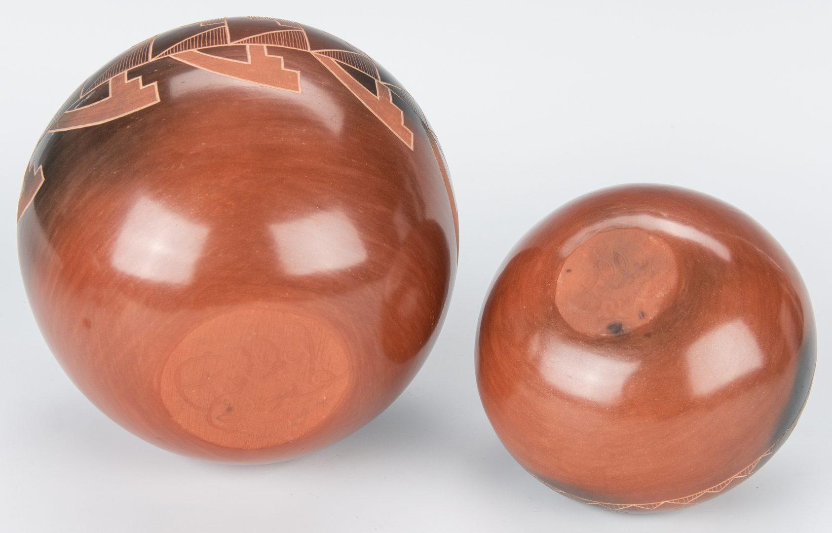 Lot 301: 4 Jars: Jody Folwell and Polly Rose, Santa Clara