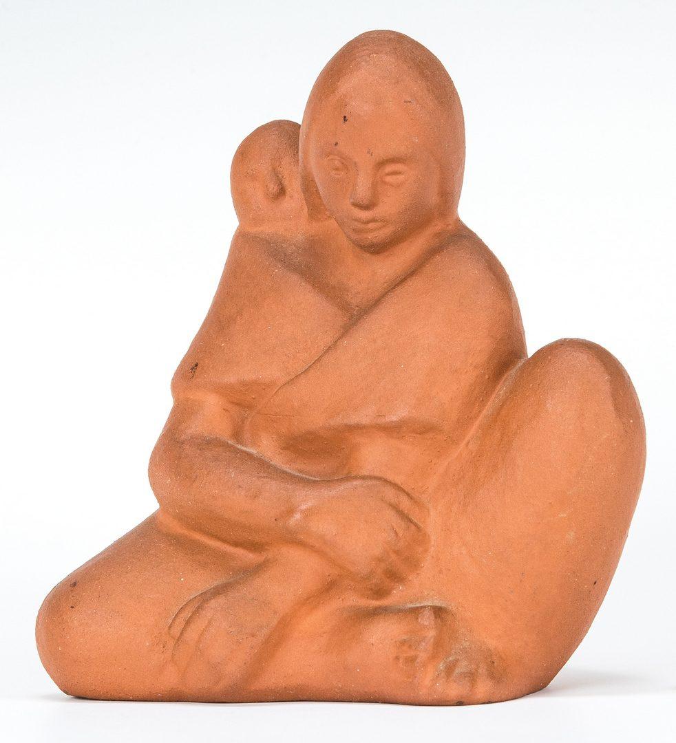 Lot 308: A. Crowe Pottery Figure