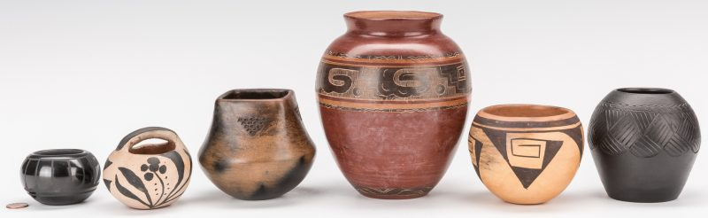 Lot 309: Group of 6 Pottery Items, inc. Cling, Bigmeat