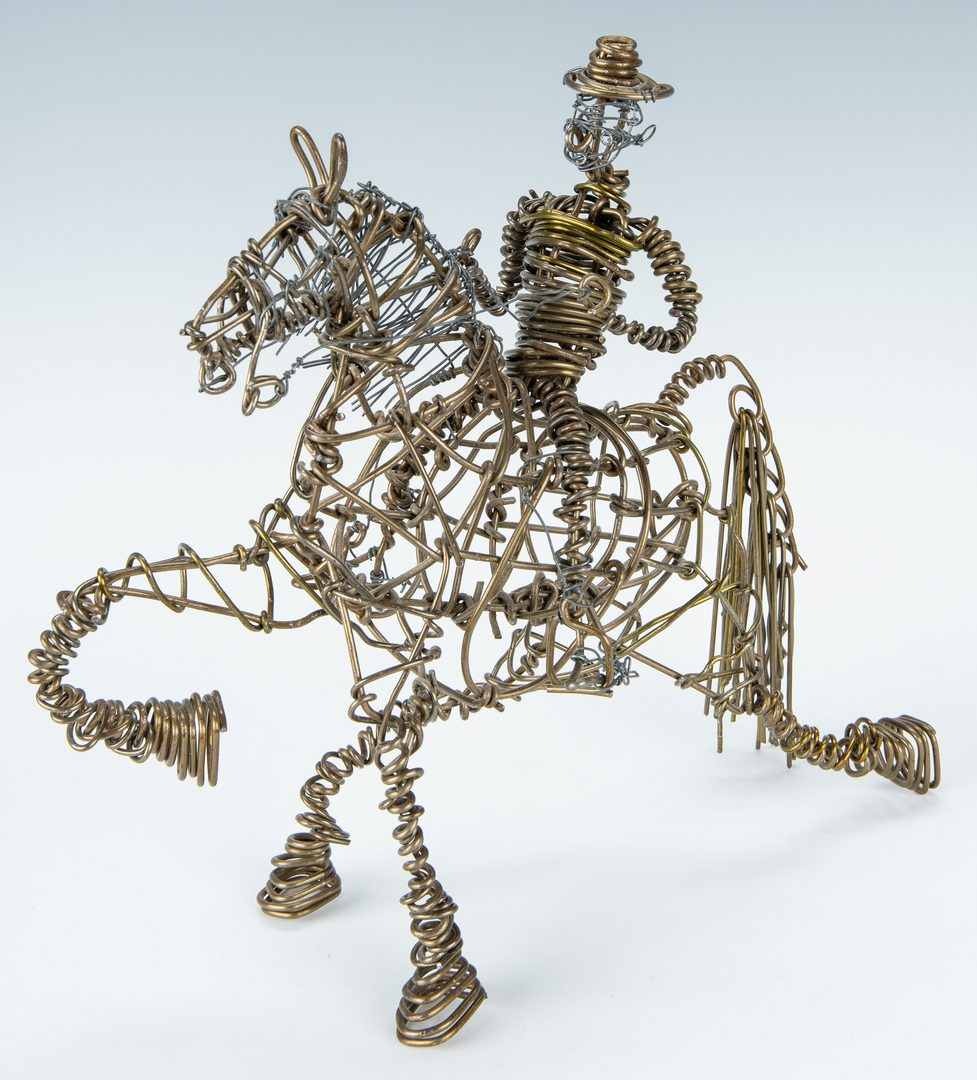 Lot 311: 3 Vannoy Streeter wire sculptures