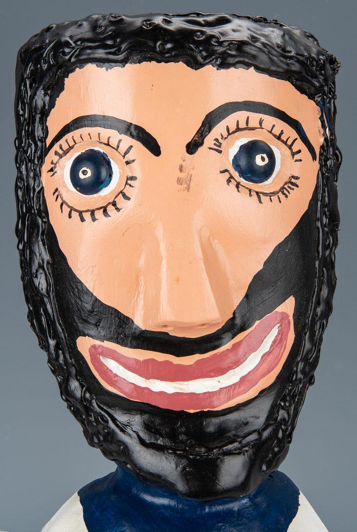 Lot 324: Ronald Cooper Carved Folk Art Sculpture
